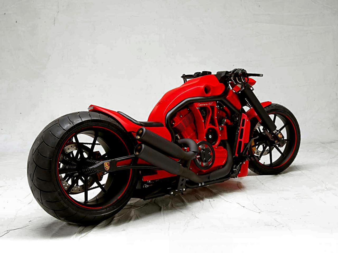 porsche gt bike amd custom