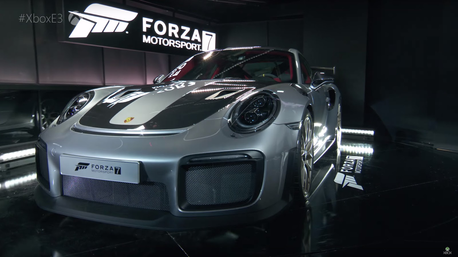 2018 porsche 911 gt2 rs unveiled at e3 gaming convention. Black Bedroom Furniture Sets. Home Design Ideas