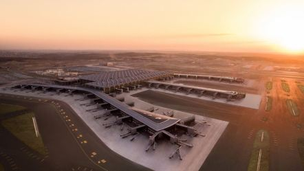 Erdogan opens new 'Istanbul Airport'; built at a cost $12 billion(Rs 83,800 crore) will be World's biggest airport by 2025
