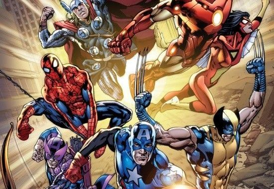 1st look at AVENGERS 12.1