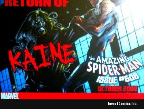 Amazing spider-Man #608: The Return of Kaine