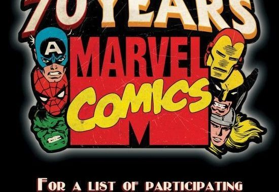 Marvel Celebrates with You