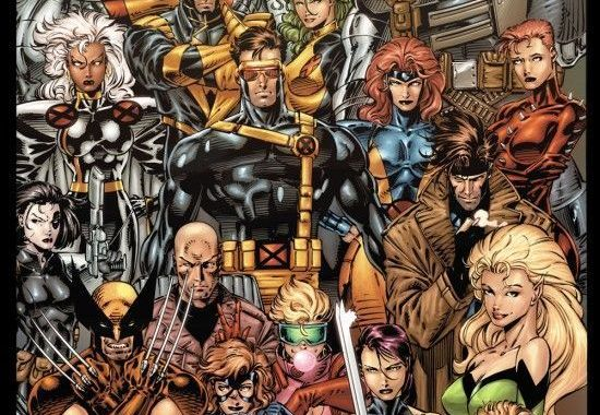 X-Men by Jim Lee Recolored!