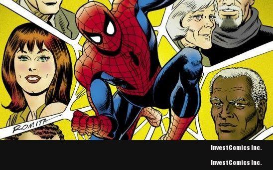 IDW Announces John Romita's The Amazing Spider-Man: Artist's Edition