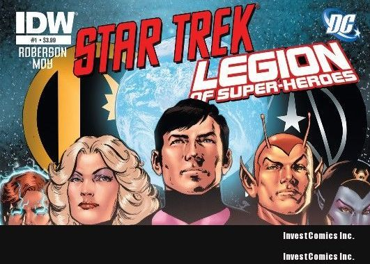 Star Trek® and the Legion of Superheroes Pair Up In July