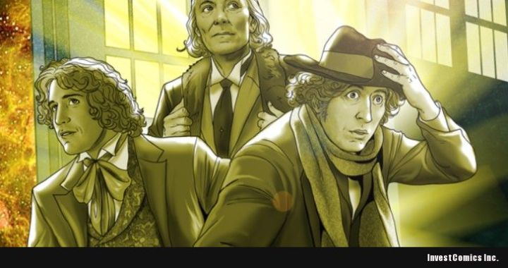 THE CAST OF DOCTOR WHO IS GETTING THE BLUEWATER BIO-COMIC TREATMENT