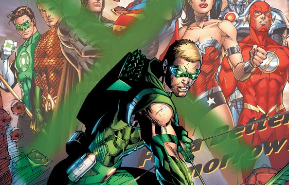 DC's JUSTICE LEAGUE group solicits for April 2012