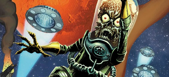 MARS ATTACKS ONGOING SERIES!