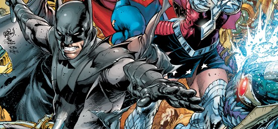 First Look – EARTH TWO #1 Variant Cover