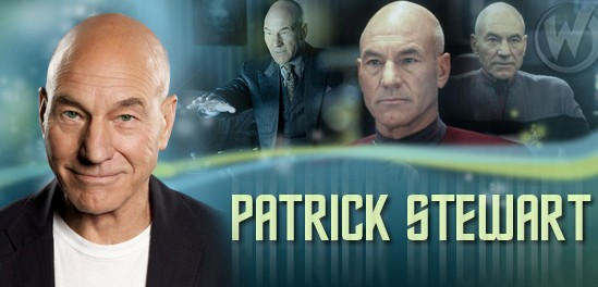 Patrick Stewart Joins the Wizard World Comic Con Tour!