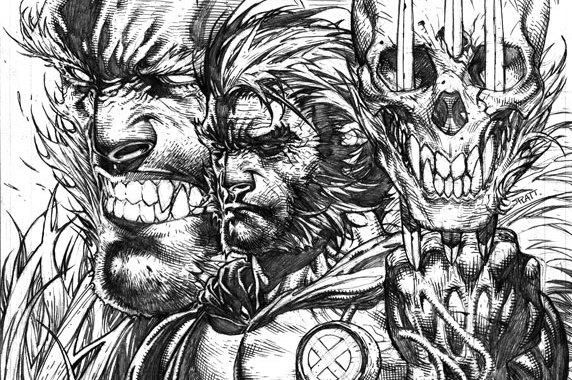 "Stephen Platt Covers ""Sabretooth Reborn"" in WOLVERINE #310!"