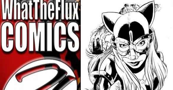 Death Fox Exclusive Limited Edition Comic from What The Flux Comics Publishing