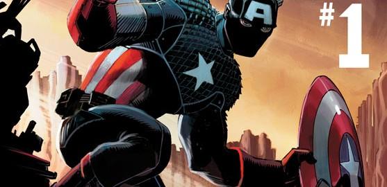 Captain America #1! The Future of CAPTAIN AMERICA Is Marvel NOW!