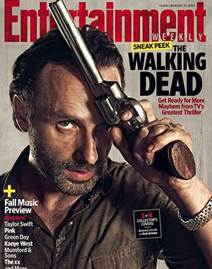 ENTERTAINMENT WEEKLY covers THE WALKING DEAD season three