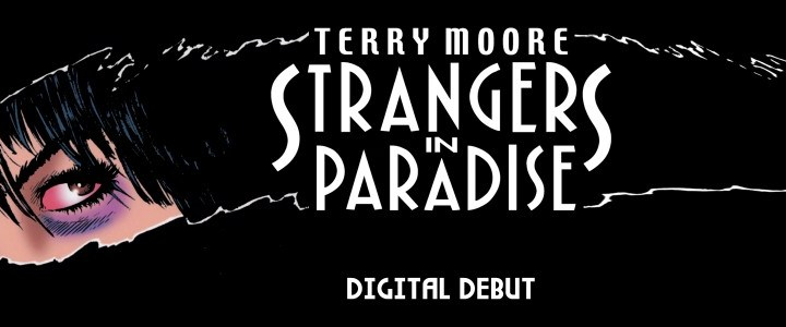 STRANGERS IN PARADISE goes digital with COMIXOLOGY
