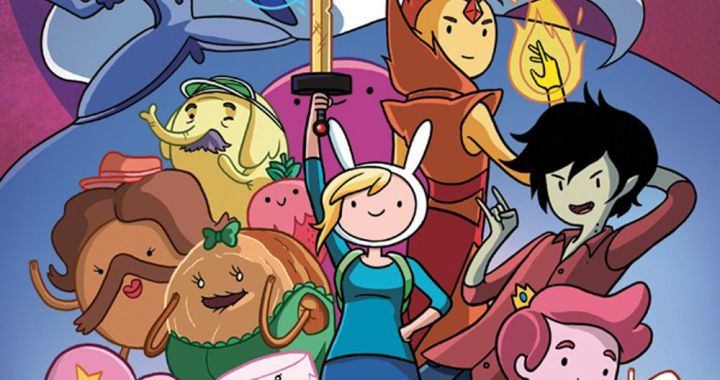 FIONNA & CAKE get their own ADVENTURE TIME Spin-off mini from KABOOM!