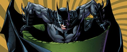 Ethan Van Sciver takes over monthly art chores on BATMAN: THE DARK KNIGHT