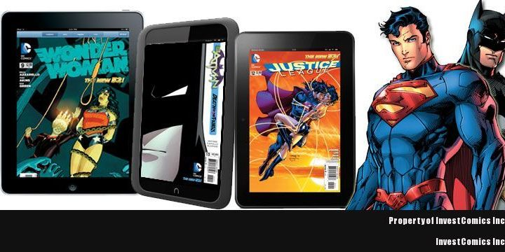 DC Entertainment Digital Comic Books Now Available on Kindle Store, iBookStore and Nook Store