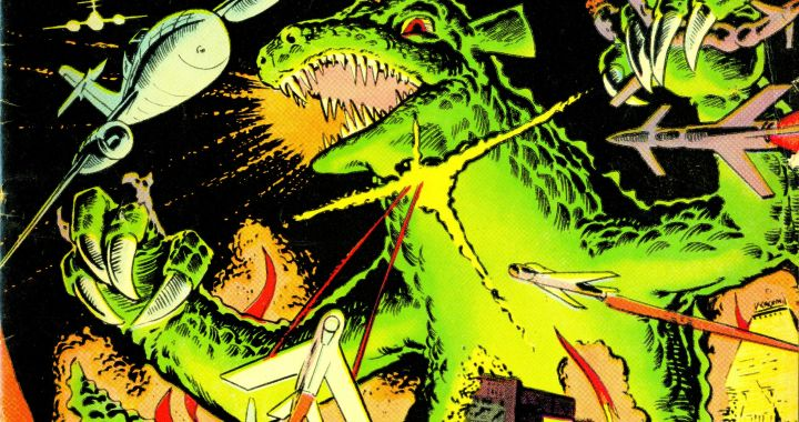 Steve Ditko's GORGO resurfaces at IDW
