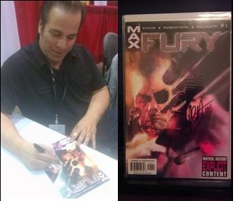 Jimmy Palmiotti Signed Nick Fury #1