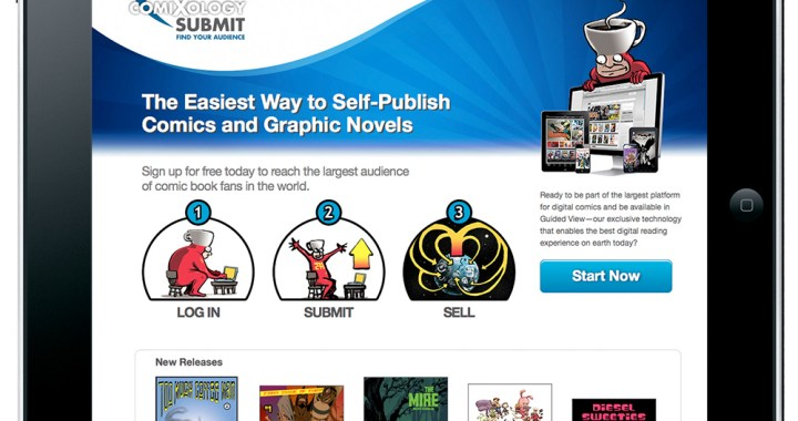 COMIXOLOGY debuts SUBMIT, a new self-publishing platform