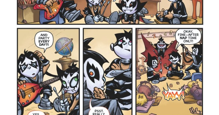 KISS KIDS bring rockin' adventures to IDW