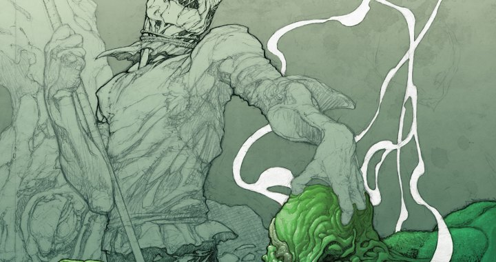 Full SWAMP THING #19 cover revealed