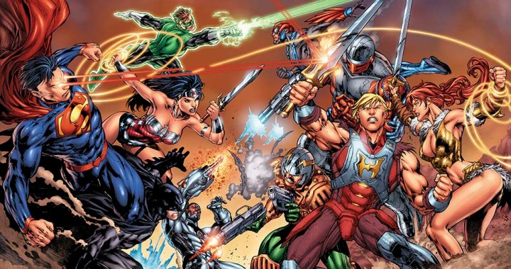 The MASTERS OF THE UNIVERSE are coming to THE DCU this summer