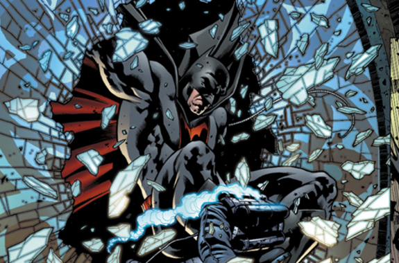 1st look at the EARTH 2 Annual #1 and new Batman!