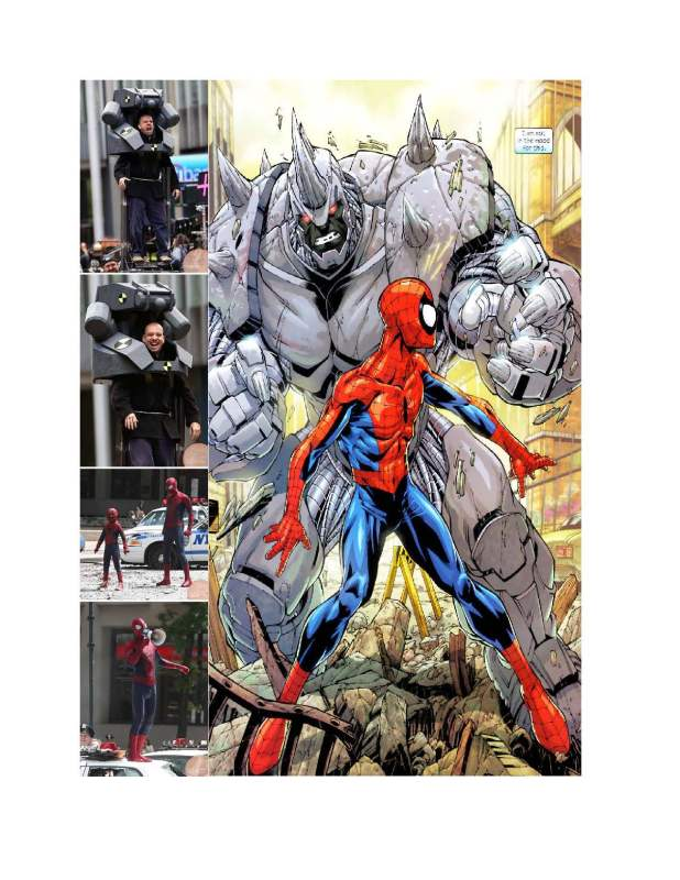 Rhino in Amazing Spider-Man 2