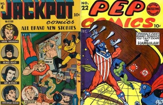 Jackpot #4 Pep Comics #22