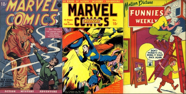 Most Valuable MARVEL COMICS published each year Golden