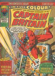 Captain Britian 8 First Psylocke