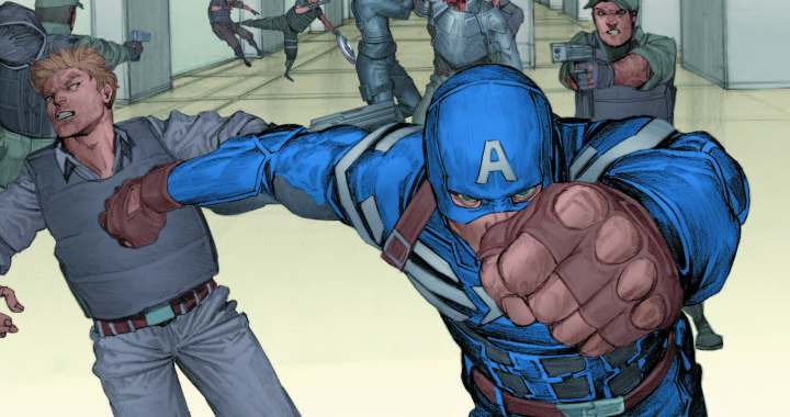 New CAPTAIN AMERICA: THE WINTER SOLDIER PRELUDE Infinite Comic Available Today!