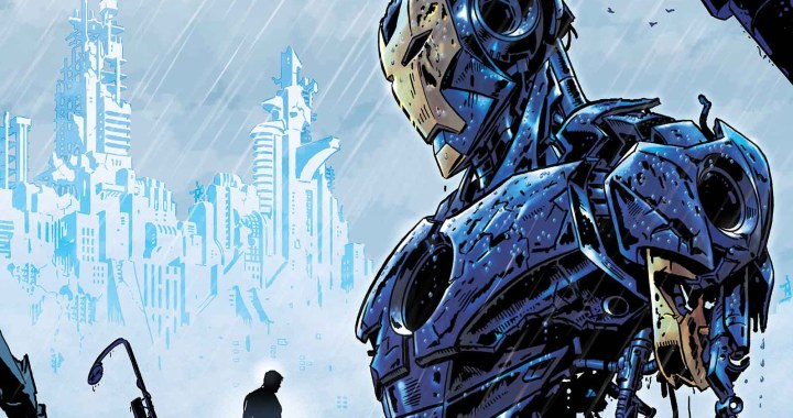 Your First Look at IRON MAN #22!