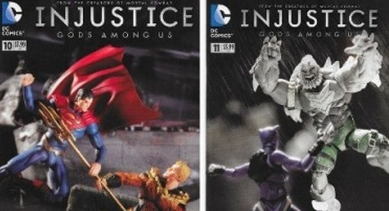 History of Action Figure Toy Variant Comic Covers