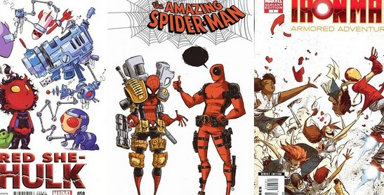History of Skottie Young Baby Marvel Variant covers