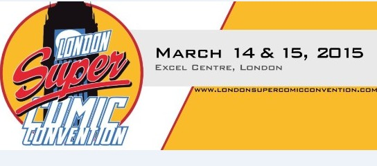 London Super Comic Con 2015