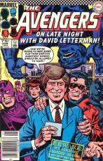 David Letterman InvestComics