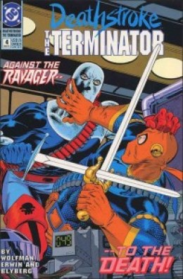 Deathstroke The Terminator #4 InvestComics