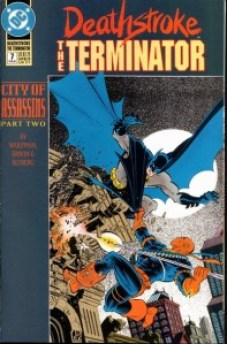 Deathstroke The Terminator #7 InvestComics