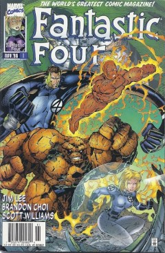 Fantasic Four 1 InvestComics