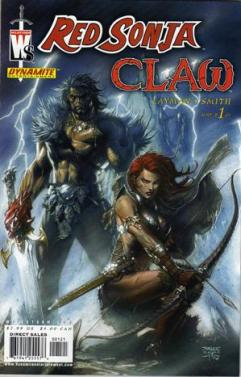 Red Sonja Claw 1 InvestComics