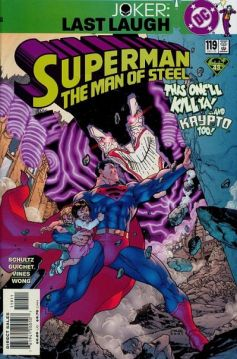 Superman Man of Steel 119 InvestComics