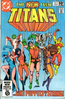 The New Teen Titans #9 InvestComics