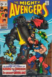 Avengers #69 1969 InvestComics