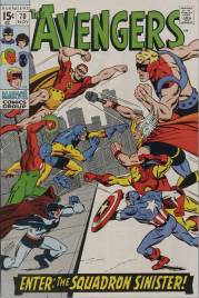 Avengers #70 1969 InvestComics