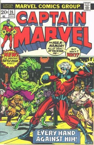 Captain Marvel #25 InvestComics