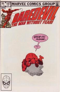 Daredevil #187 InvestComics
