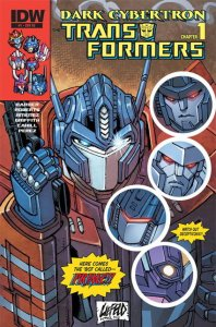 Dark Cybertron Transformers #1 InvestComics